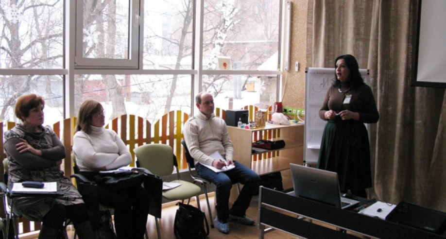 Тренінг «Управління стресом» для керівників районних служб у справах дітей м. Харкова.