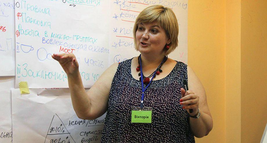 Зустріч в рамках проекту «Школа тренерського розвитку» – 22 травня 2015 року