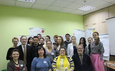 """Актуальний тренінг """"Як мобілізувати ресурси громади для надання комплексних послуг дітям з особливими потребами"""" у Києві та Херсоні"""